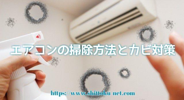 エアコンの掃除方法とカビ対策